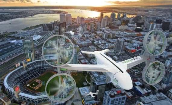 Летающие такси. Uber анонсировал запуск в Австралии. 8
