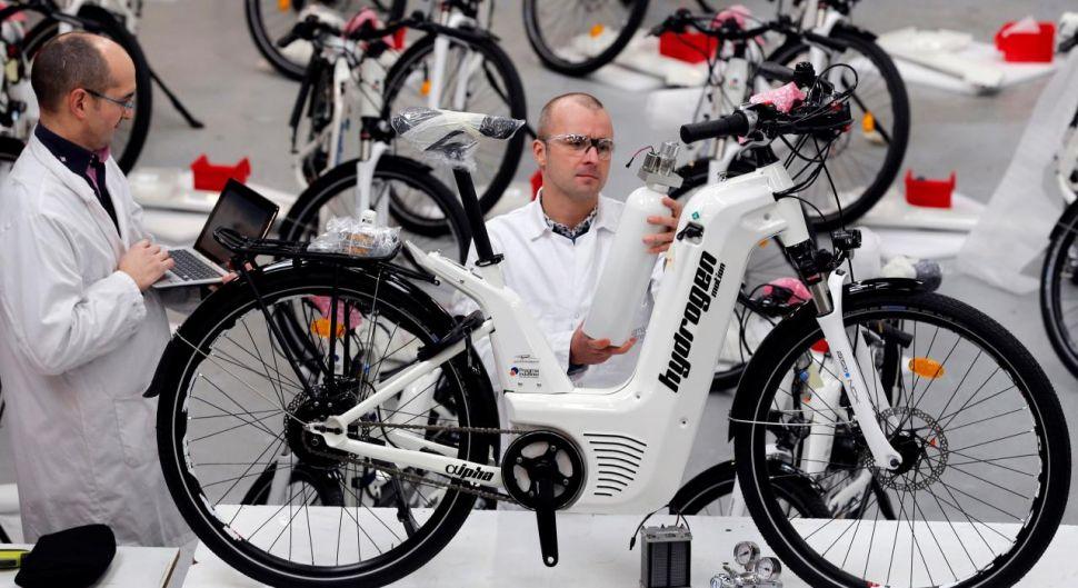 Водородный велосипед? Французы его оказывается создали 2