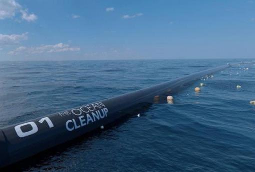 В США запустили Ocean Cleanup — систему очистки океана от пластика 5