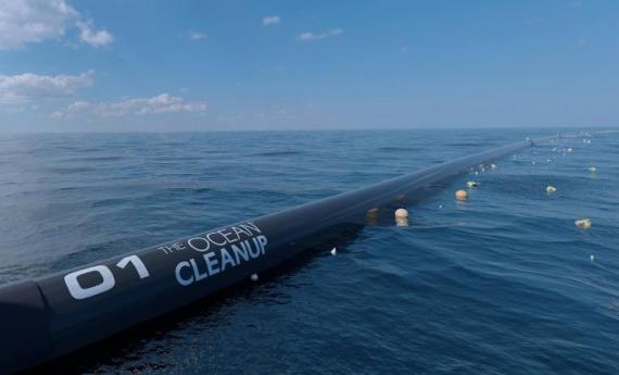 В США запустили Ocean Cleanup — систему очистки океана от пластика 10