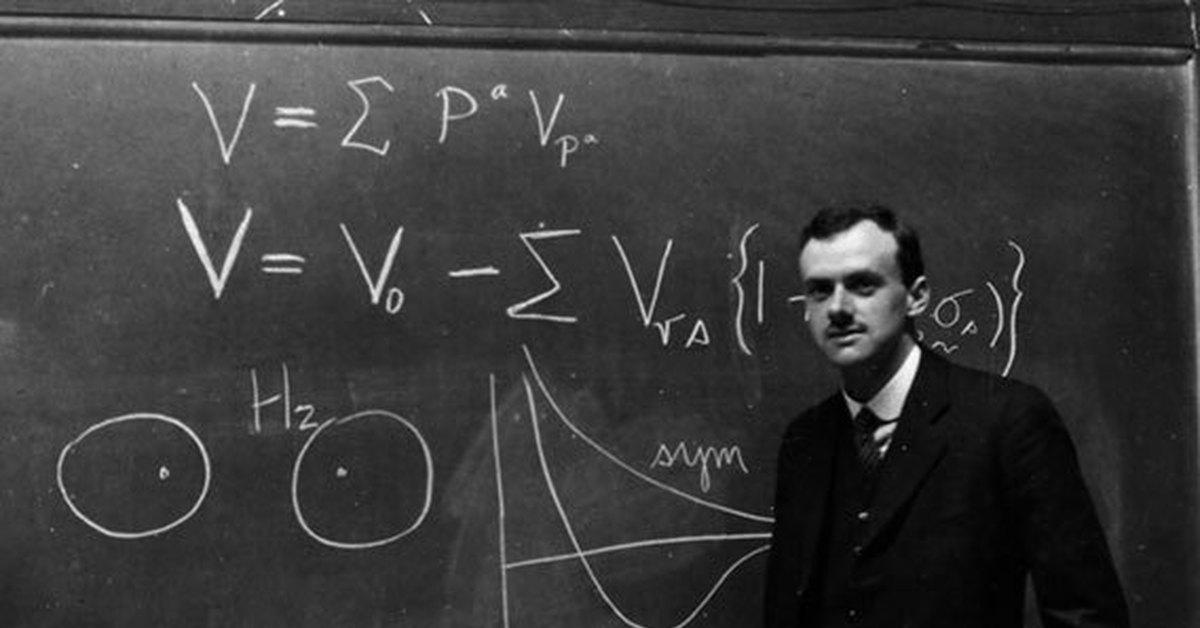 Поль Дирак — человек, который изменил физику 1