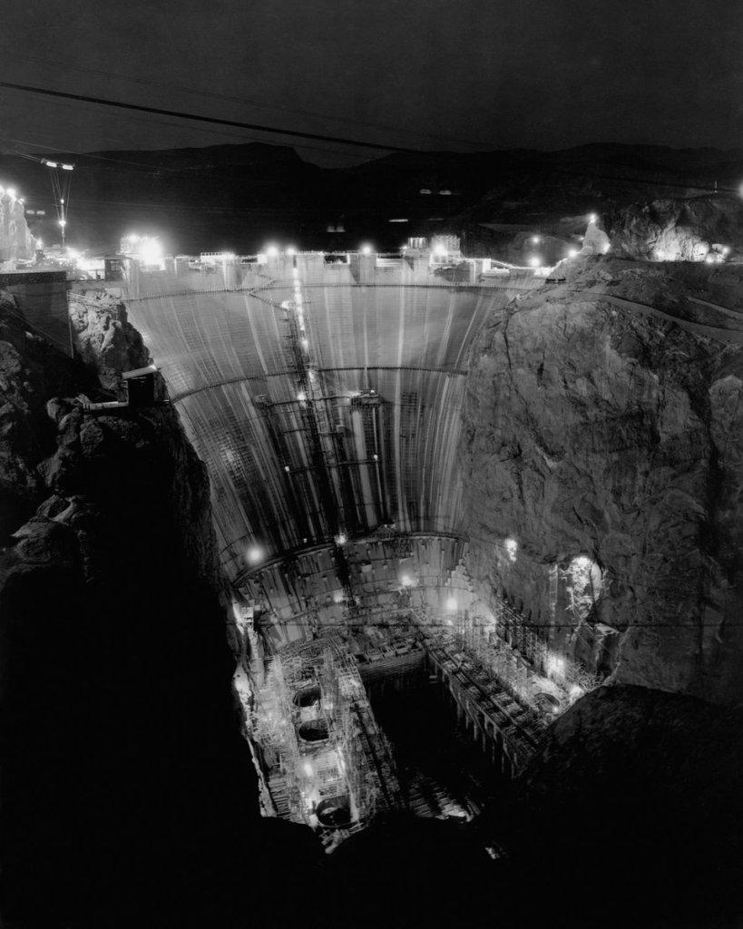 Дамба Гувера: как строили самую большую плотину XX века 6