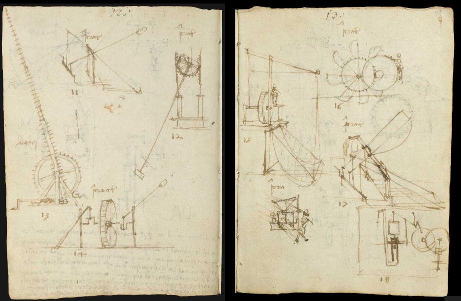 Научные книги Леонардо да Винчи выложили в открытый доступ 16