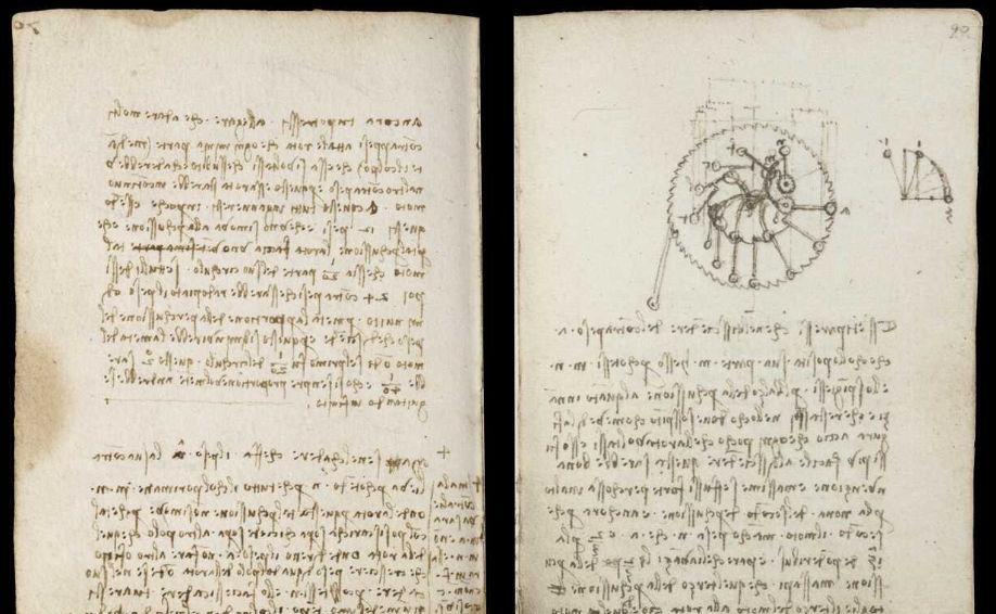 Научные книги Леонардо да Винчи выложили в открытый доступ 24
