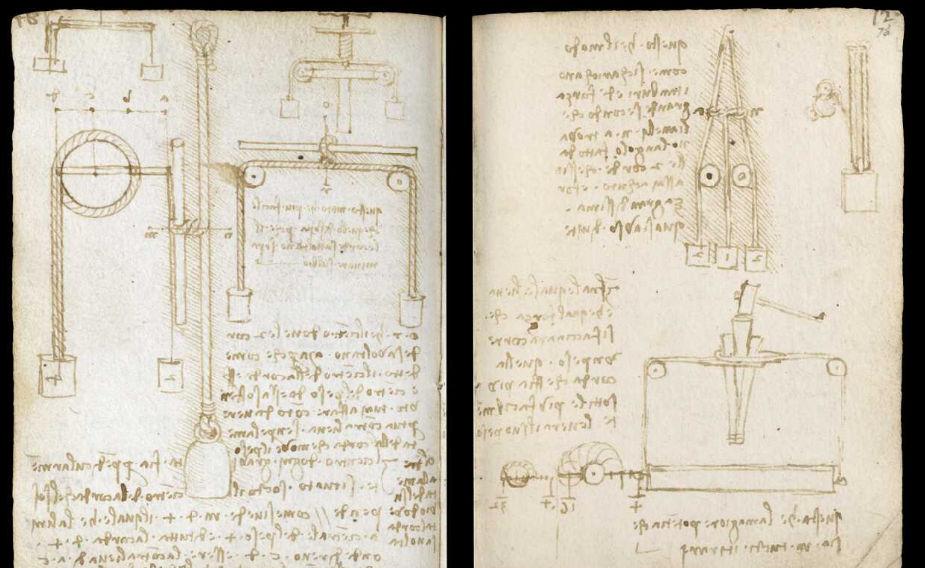 Научные книги Леонардо да Винчи выложили в открытый доступ 31