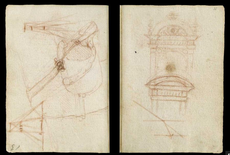 Научные книги Леонардо да Винчи выложили в открытый доступ 35