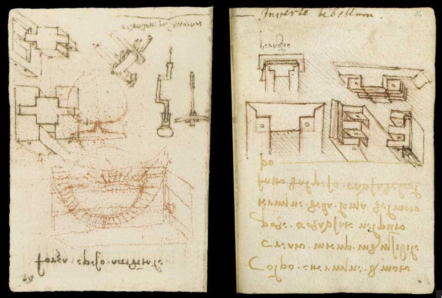 Научные книги Леонардо да Винчи выложили в открытый доступ 38