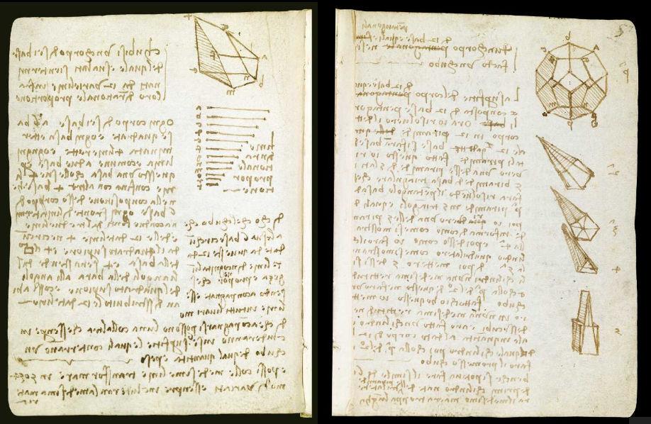 Научные книги Леонардо да Винчи выложили в открытый доступ 8