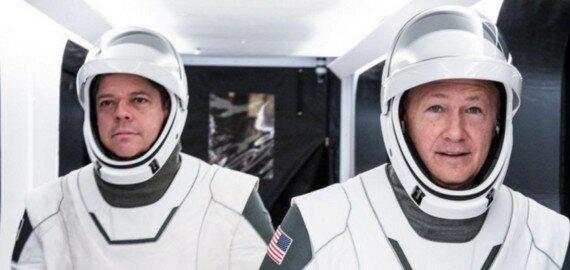 Кто полетит в первой пилотируемой миссии SpaceX? 2
