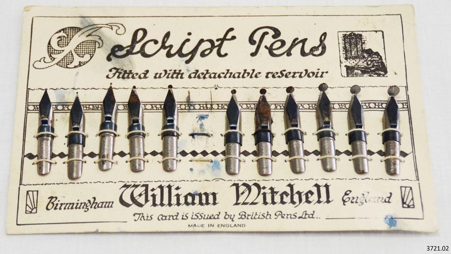 История пишущей ручки 6
