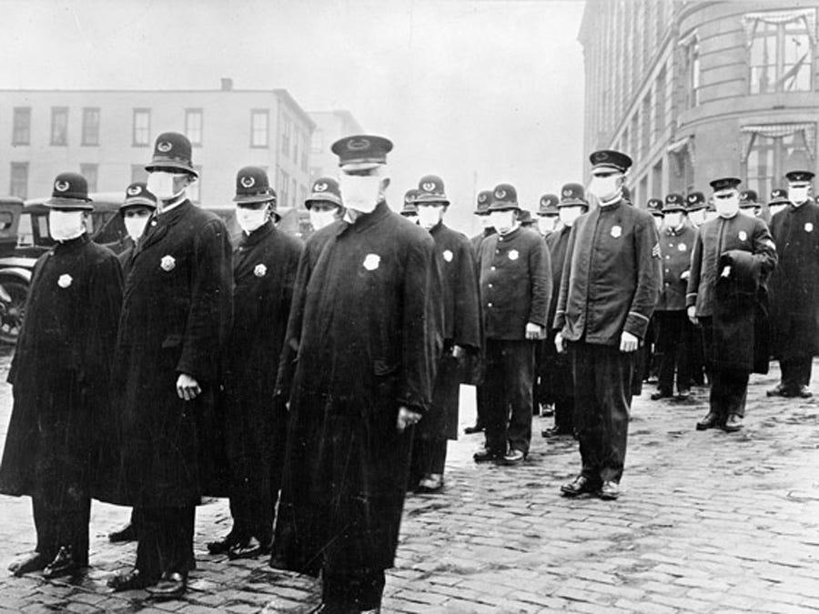 Как пандемия гриппа 1918 года поставила мир на колени 3