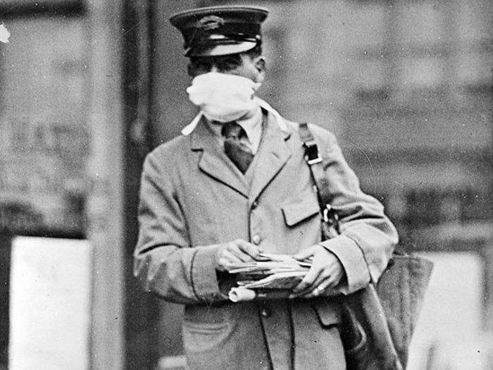 Как пандемия гриппа 1918 года поставила мир на колени 6