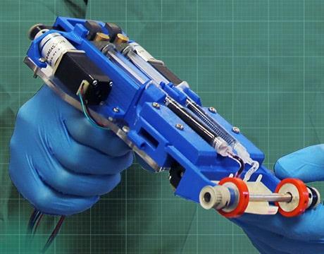 Ручной 3D-принтер для печати кожного покрова 6