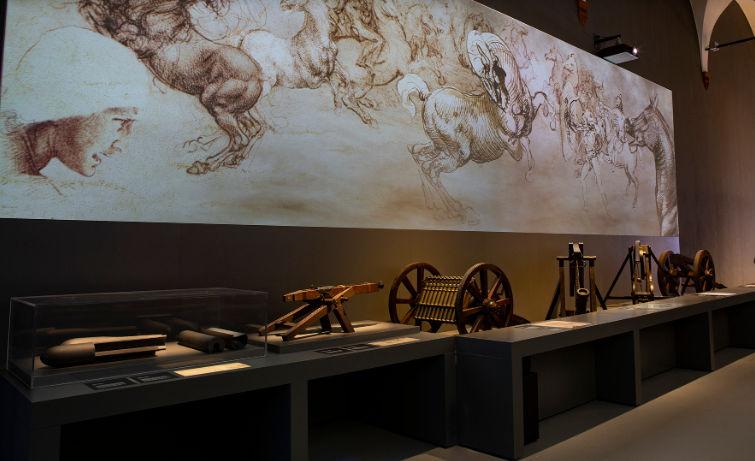 Музей науки и техники Леонардо да Винчи 1