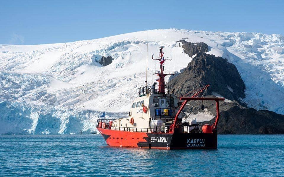 На службе науки – катер RS Karpuj чилийского Антарктического института (INACH) 1