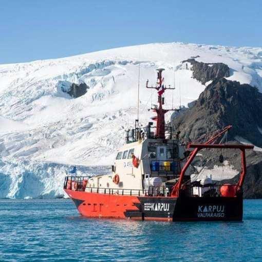 На службе науки – катер RS Karpuj чилийского Антарктического института (INACH) 39