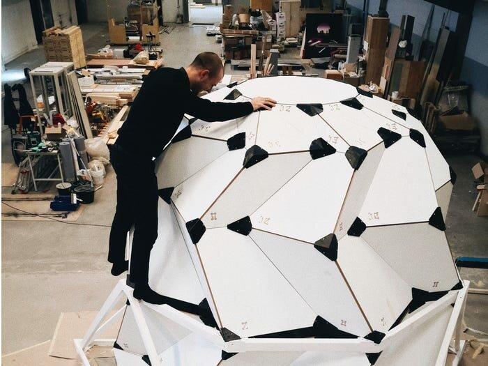 Лунный дом, который создают датские архитекторы. 3