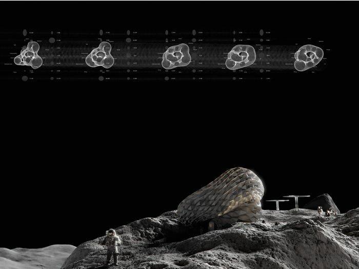 Лунный дом, который создают датские архитекторы. 6