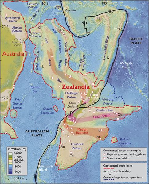 Ученые обнаружили следы затерянного континента в Тихом океане 2
