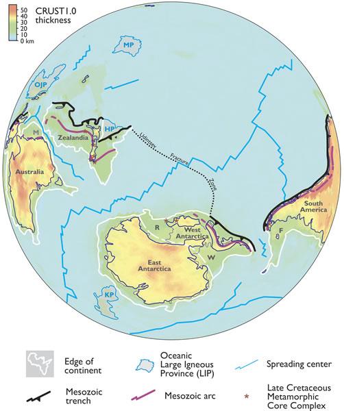 Ученые обнаружили следы затерянного континента в Тихом океане 4