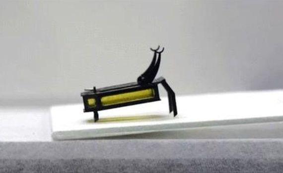 Микроробот, мышцы которого работают на метаноле 11
