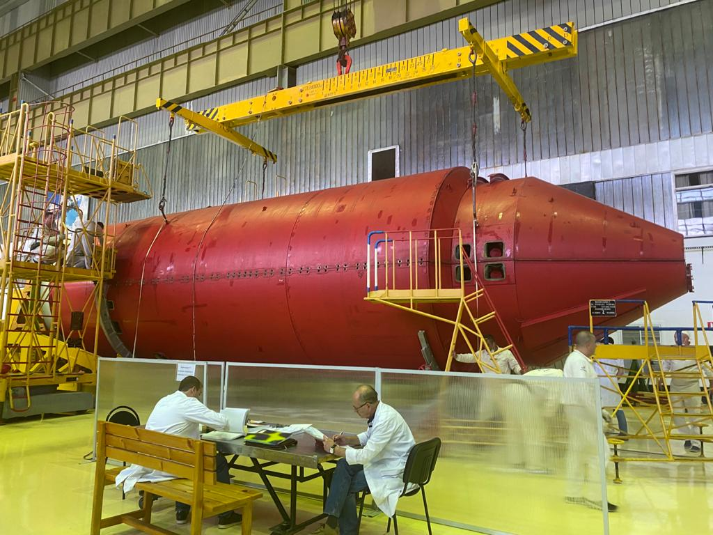 Российский модуль «Нака» отправлен на Байконур 1