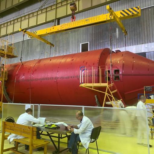 Российский модуль «Нака» отправлен на Байконур 6