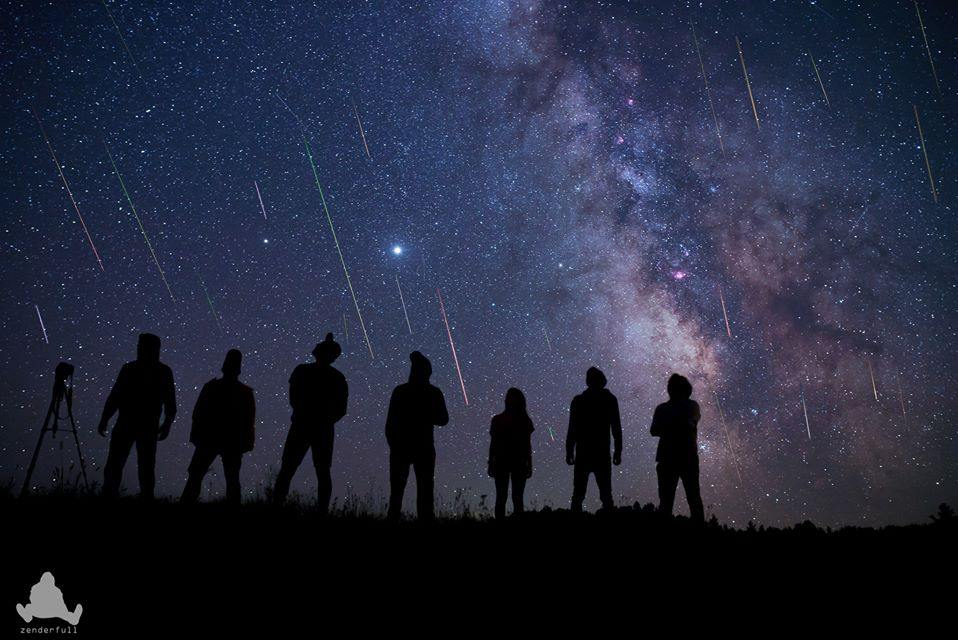 Метеорный поток Персеиды в объективах фотографов 7