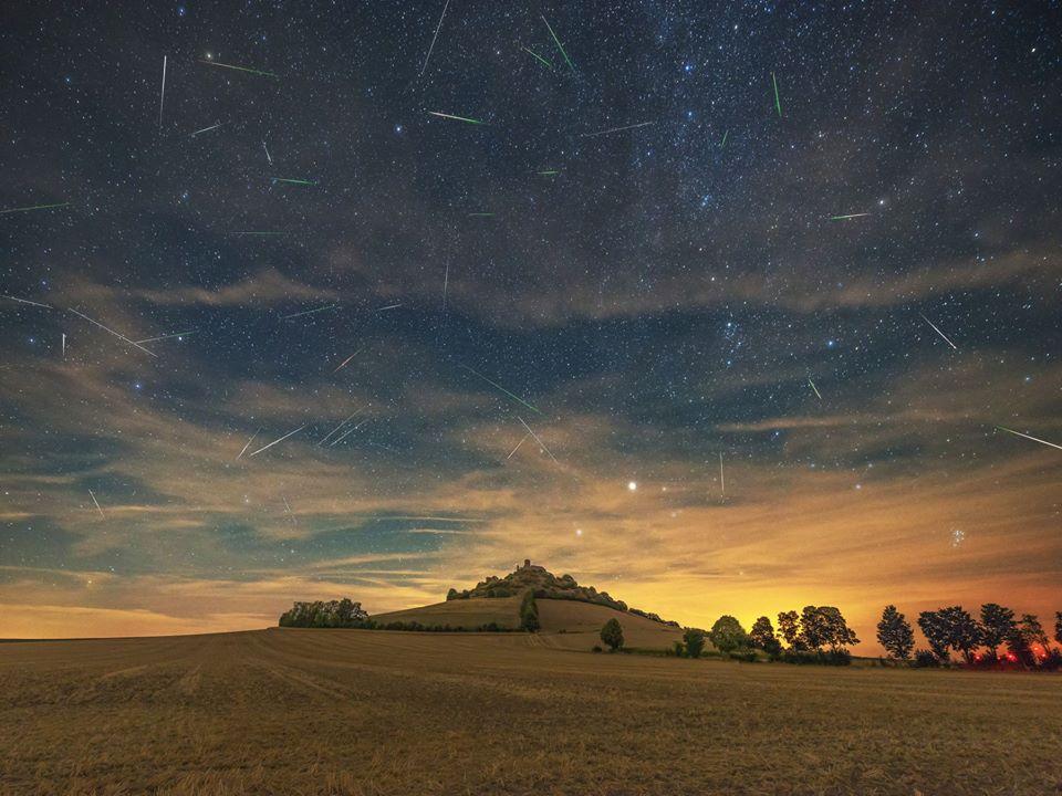 Метеорный поток Персеиды в объективах фотографов 2