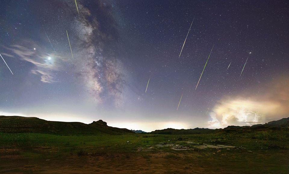 Метеорный поток Персеиды в объективах фотографов 5