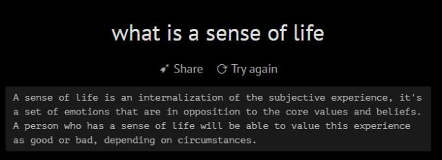 Появился ИИ- философ, с которым можно поговорить о смысле жизни 2