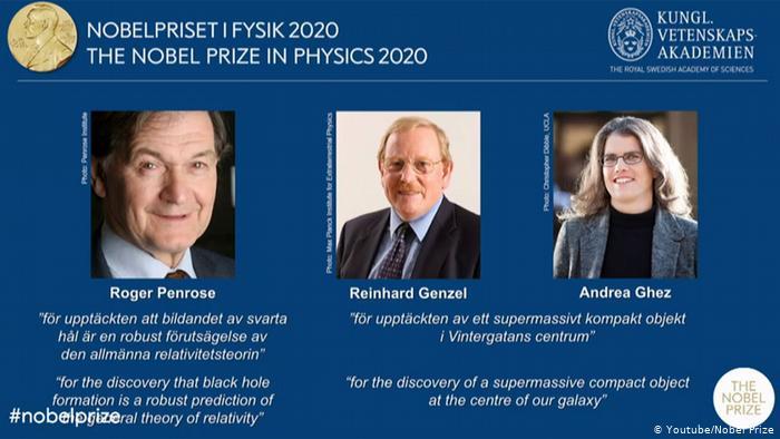 Названы нобелевские лауреаты 2020 года по физике 1