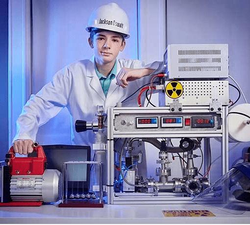 Самый юный физик-ядерщик, согласно Книге рекордов Гиннеса-2021 9