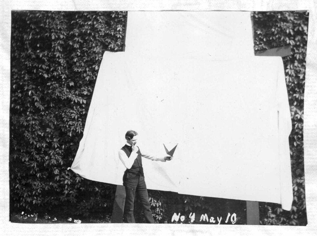 Тетраэдрические воздушные змеи Александра Грэма Белла (1903–1909) 4
