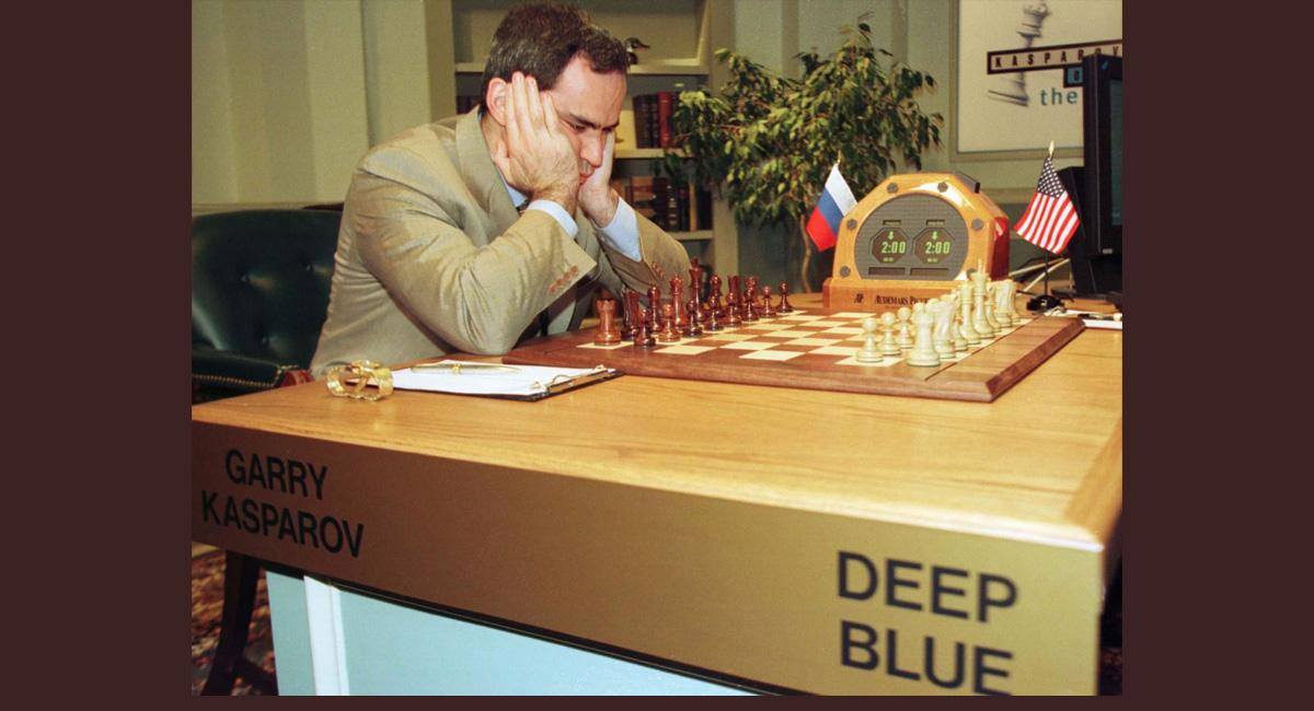 Человек против машины. Сражение Гарри Каспарова и суперкомпьютера Deep Blue от IBM 1
