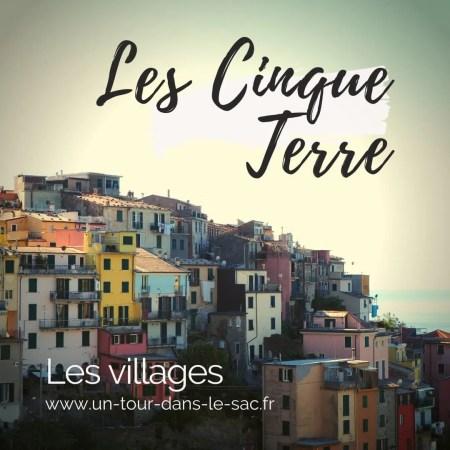Cinque terre, cinq villages d'Italie