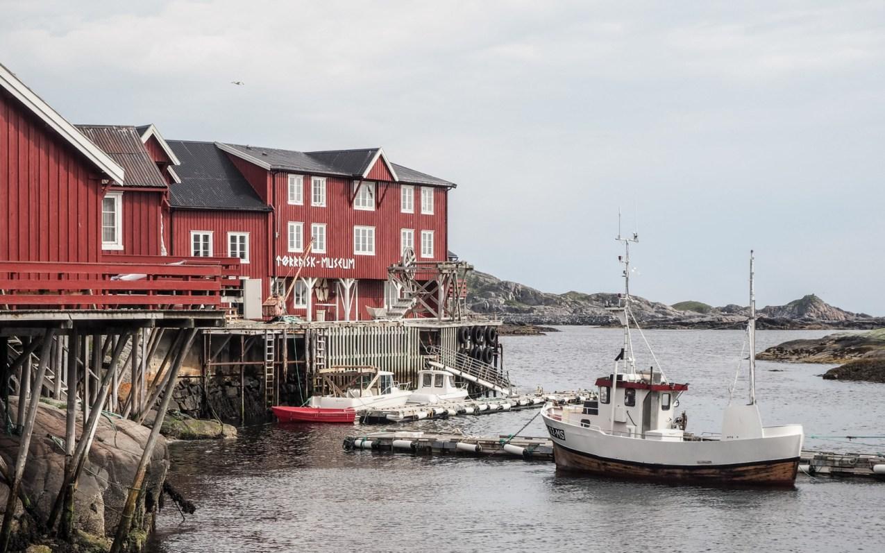 Å i Lofoten et son musée, plus beau village des Lofoten