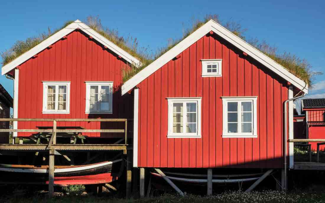 Cabanes de pêcheurs à Reine, Lofoten