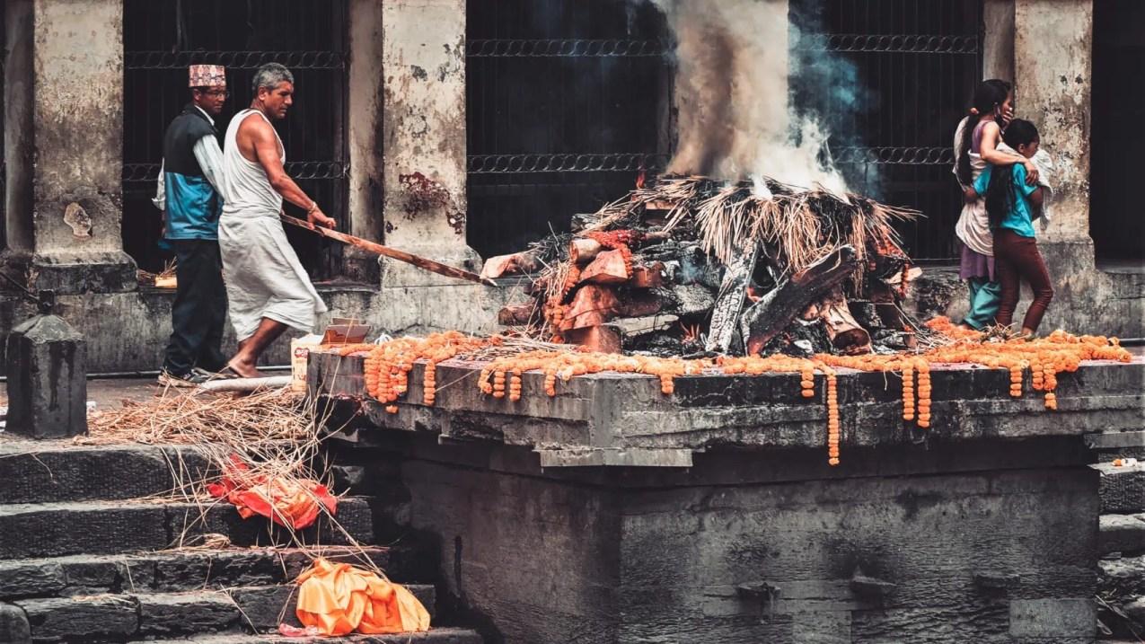 Pashupatinath lors d'une visite de Katmandou