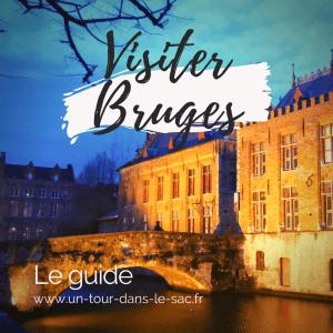 visiter Bruges en belgique