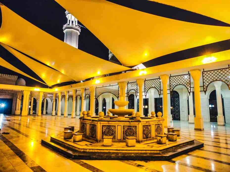 itinéraire Jordanie mosquée Aqaba Jordanie