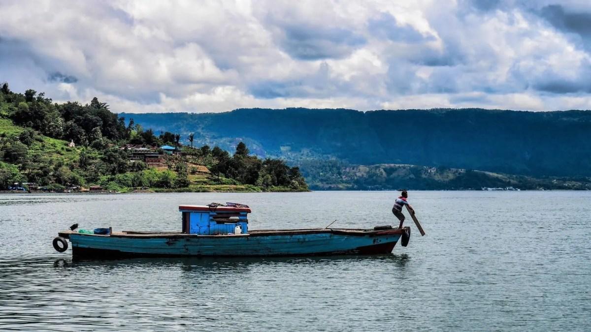 Samosir, Sumatra, lac toba