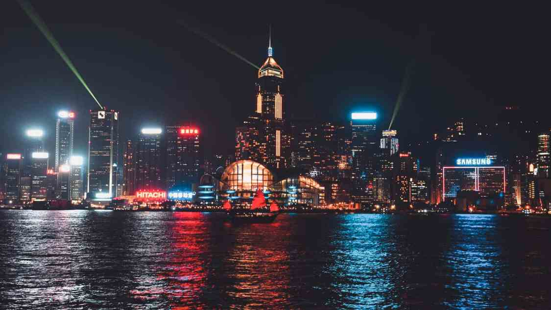 Hong Kong Baie victoria