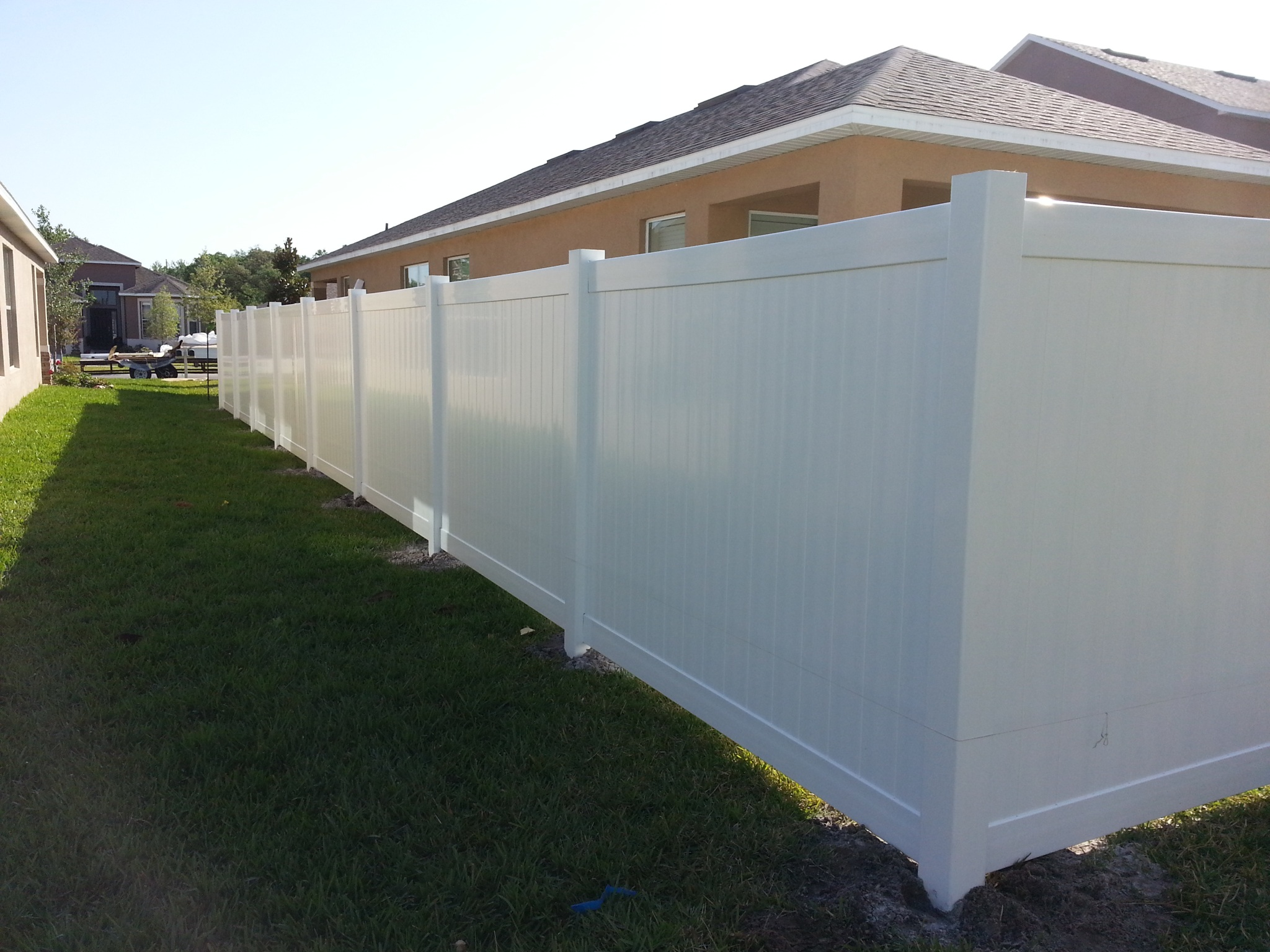 Ranch Rail Privacy Decorative PVC Fencing All State