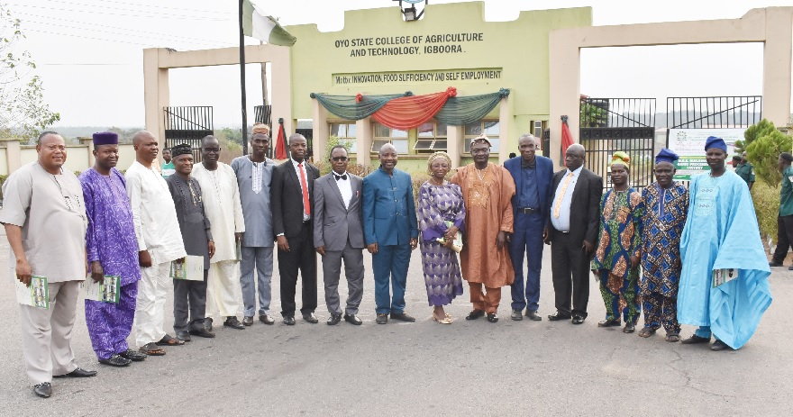 Prof. Lateef Sanni, the Chairman, Governing Council of Oyo State College of Agriculture and Technology (OYSCATECH), Igboora, has pledged the council's commitment to the development of the institution. He made the pledge at the council's inaugural meeting held at the institution in Igboora on Thursday. The News Agency of Nigeria reports that Gov. Seyi Makinde […]