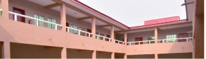 The newly-commissioned male hostel.