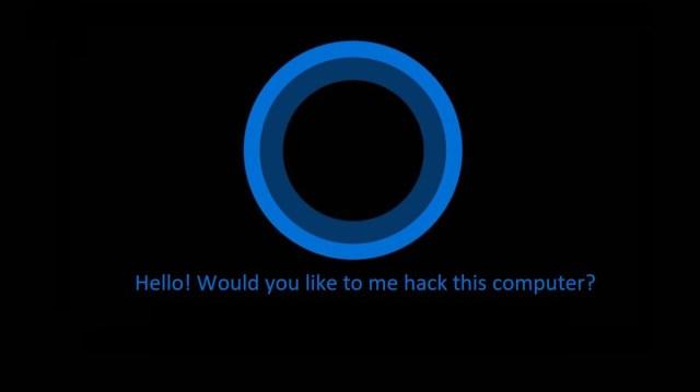 Resultado de imagen de cortana hacked