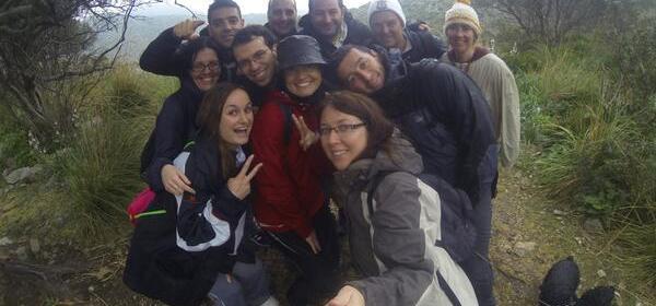 Excursión zona la Victoria, foto de grupo