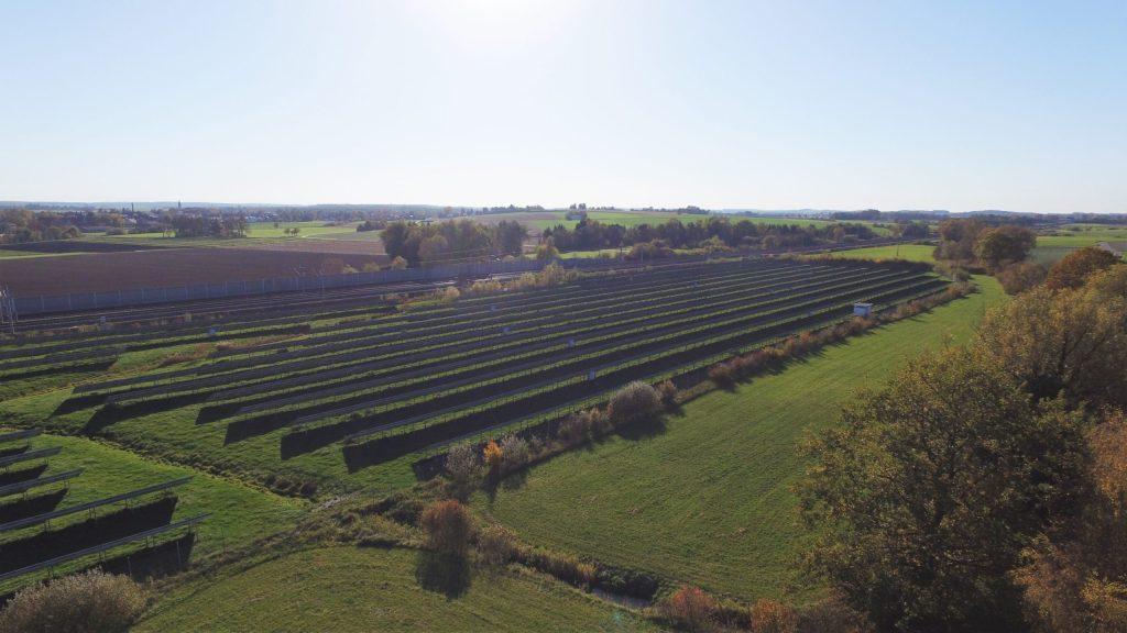 Solarstrom Feld