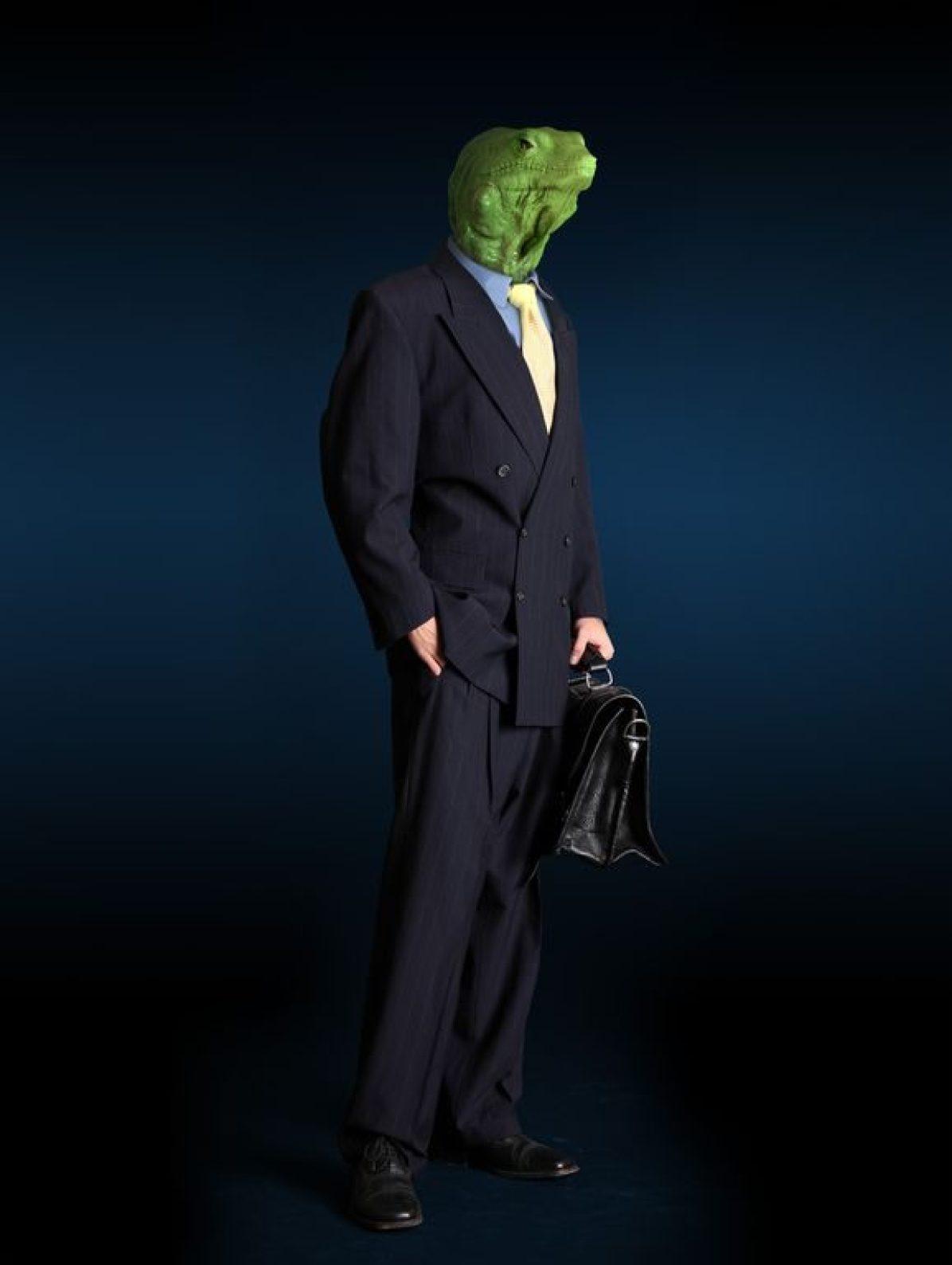 businessman business Animal ReptileHead Datei: #51175972 | Urheber: Gunnar Assmy @fotolia.com